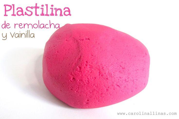 Plastilina de Remolacha y Vainilla | #Artividades