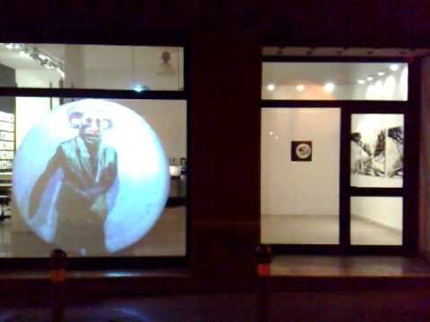 showing | animation by stefano ricci | solo exhibition in squadro galleria | jan 2009