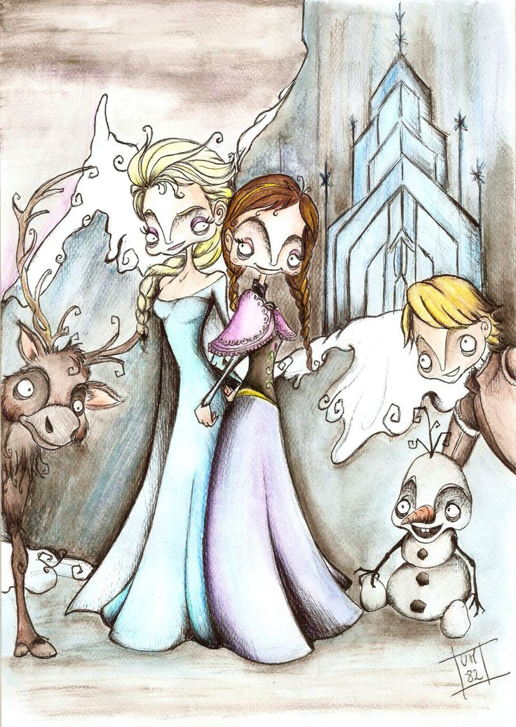 Creepy Frozen / AVAILABLE