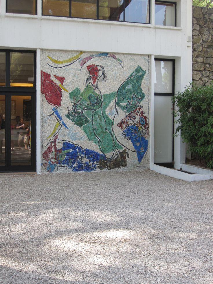 Mosaic at Foundation Maeght