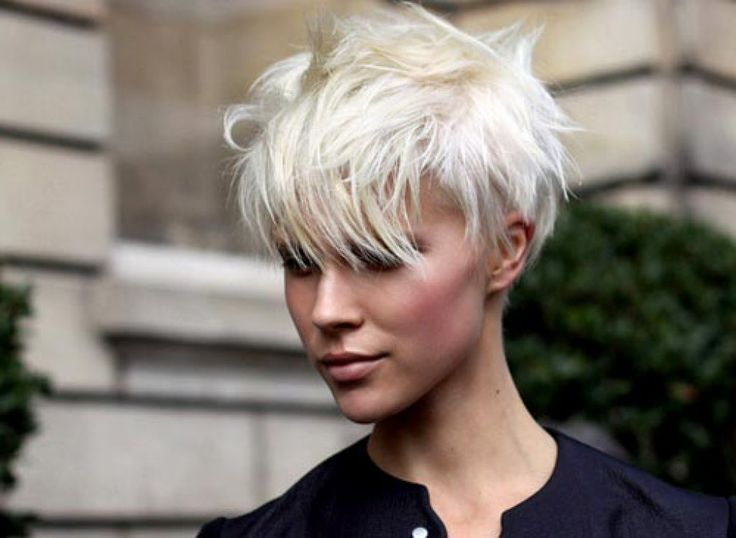 Long Undercut Hairstyle Women hair Pinterest