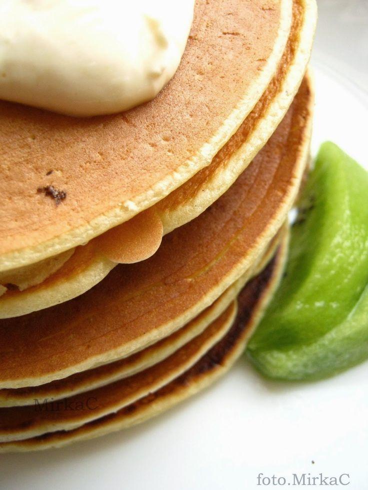 wheat-rye pancakes with lemon sauce/pszenno-żytnie placki z cytrynowym sosem