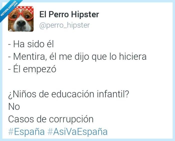 ¿Niños o políticos? por @perro_hipster   Gracias a http://www.vistoenlasredes.com/   Si quieres leer la noticia completa visita: http://www.estoy-aburrido.com/ninos-o-politicos-por-perro_hipster/