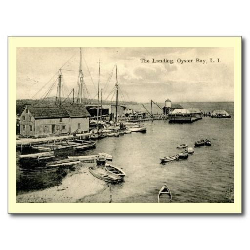 Landing, Oyster Bay, Long Island NY Vintage, go fishing for bargains in my ZAZZLE store! Who knows, you may find a pearl...