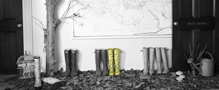 Borrow some of our wellies (there are plenty of sizes) and head out into the forest