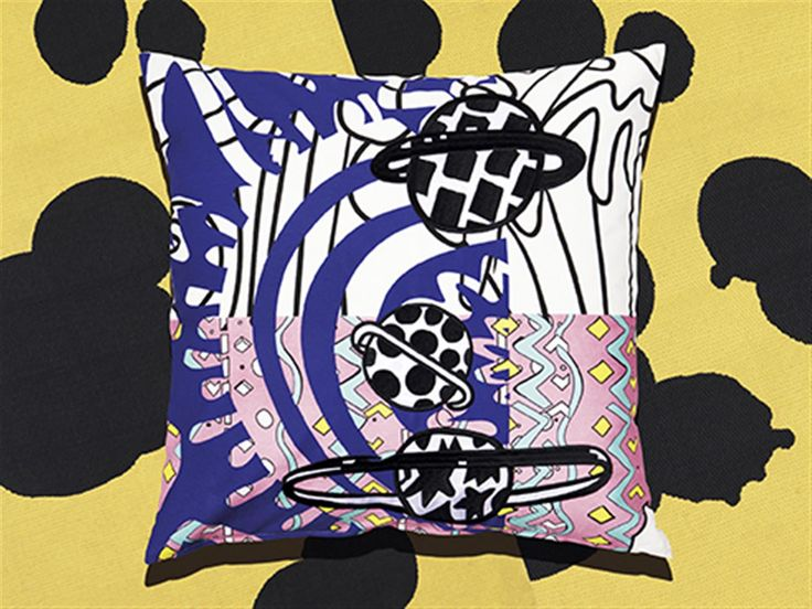 SPRIDD cushion cover. L50×W50cm. Assorted patterns. #Dontthinkdance #Kitneale #furnishwithfashion #SPRIDDcollection #IKEAcollections