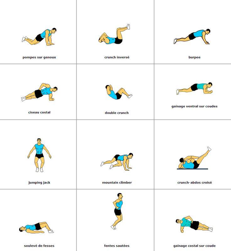 12 exercices pour maigrir | Exercice pour maigrir, Astuces