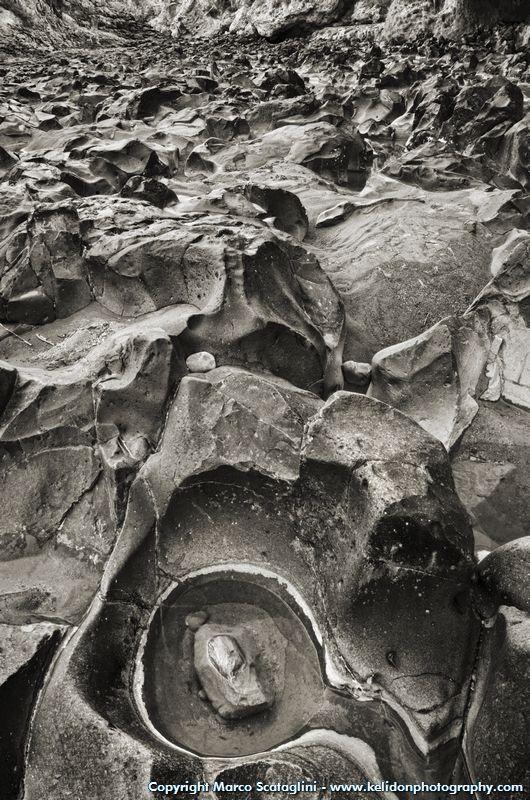 Formazioni rocciose lungo il Fiora