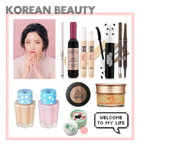 """Korean beauty"" by kiwijulin on Polyvore featuring beauty and Etude House"
