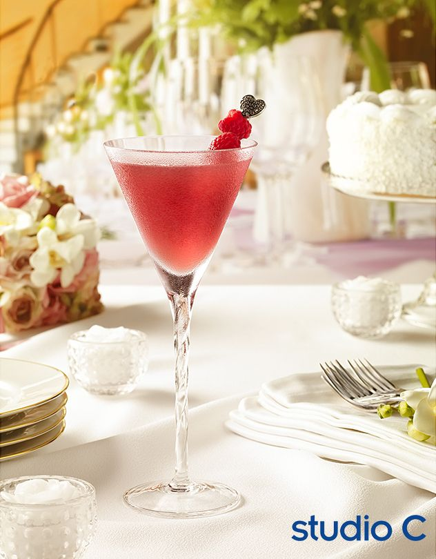 Chambord ad campaign photographed by Studio C and Colortek. French Martini