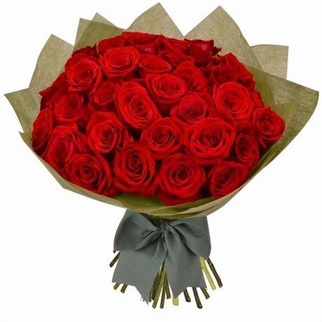 Gambar Bunga Valentine Mawar Merah
