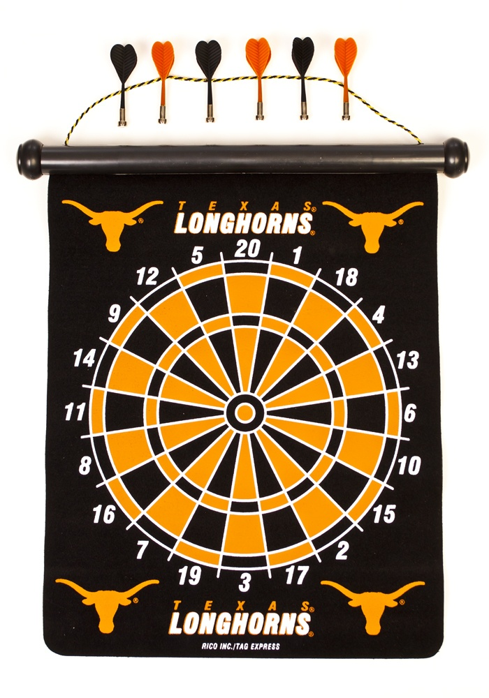 Texas Longhorns Magnetic Dart Board