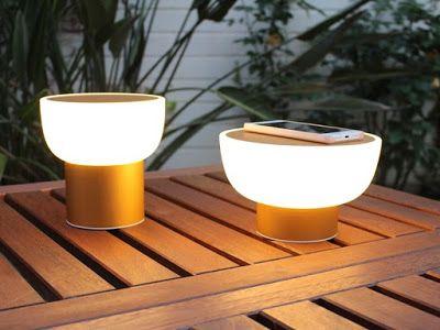 Portal de Diseño y Decoración: Alma Light presenta PATIO: una lámpara inteligente...