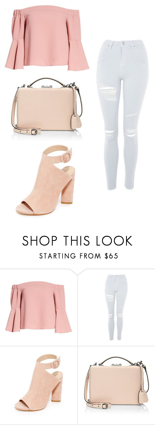 """""""Sin título #20"""" by v0guemendes on Polyvore featuring moda, Topshop, Kendall + Kylie y Mark Cross"""