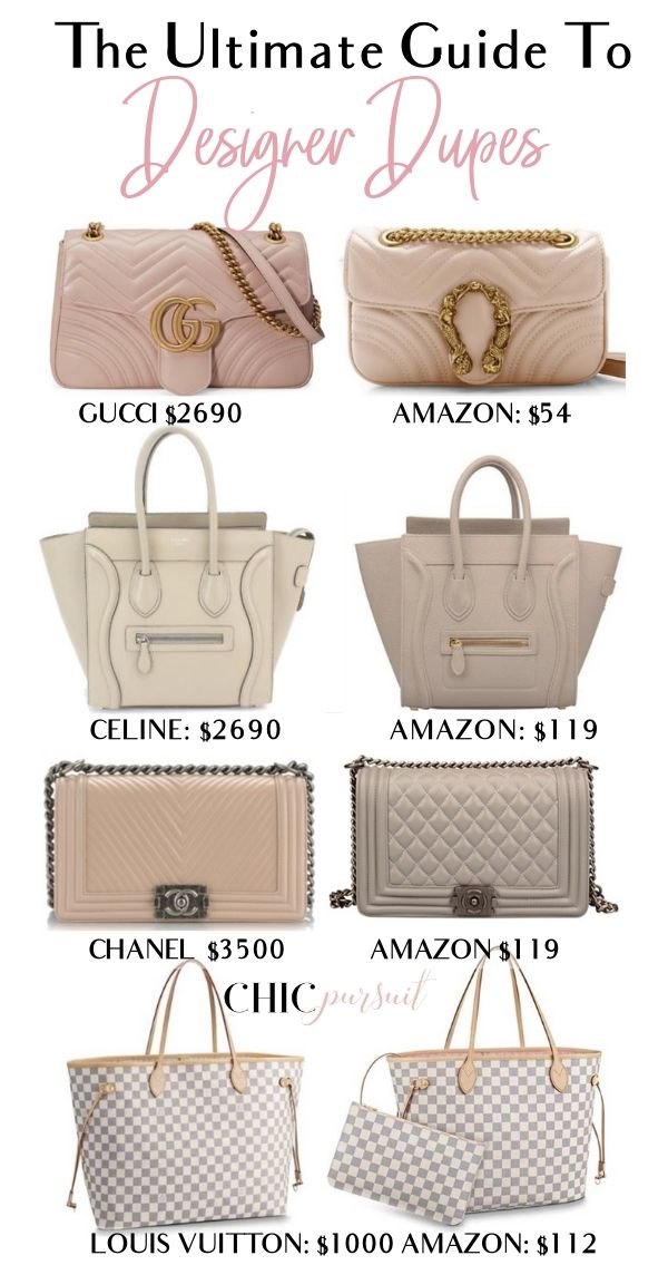 669594acd72c The Best Gucci Bag Dupes - The Only Guide You Will Need