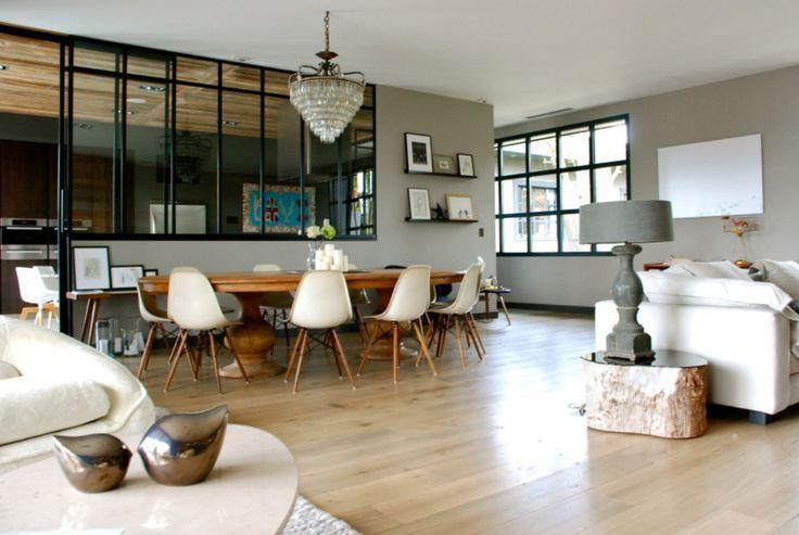 simonesisters notre disposition actuelle avec une grande verri re entre notre cuisine et le. Black Bedroom Furniture Sets. Home Design Ideas