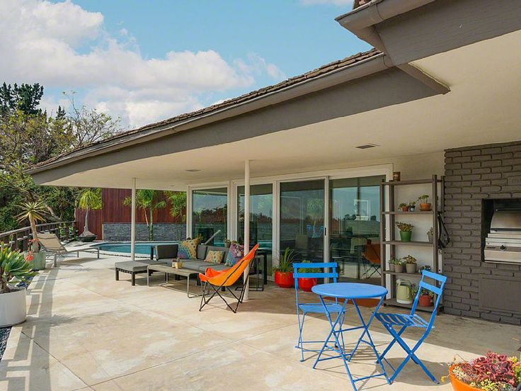 Culver City Villa Rental: Midcentury Modern La Oasis With Saltwater Pool, Outdoor Shower & Hot Tub Overlooking City Lights | HomeAway