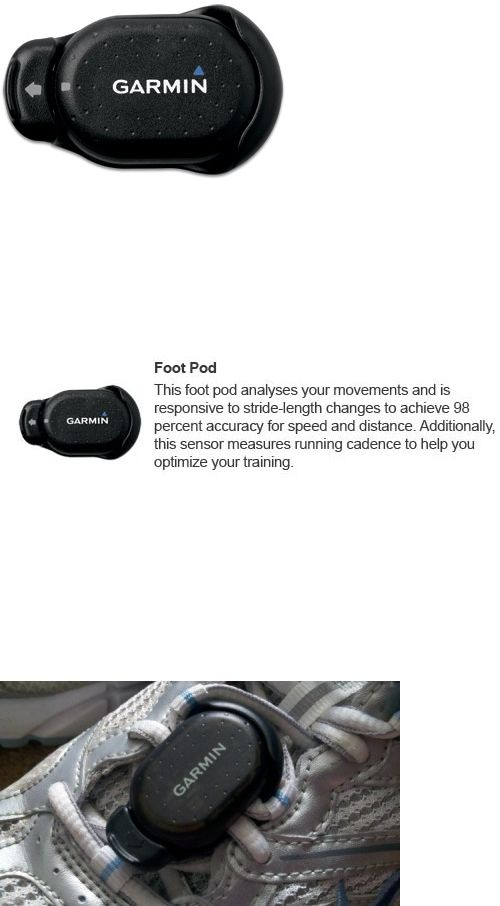 Other Fitness Equipment and Gear 28065: Garmin 010-11092-00 Wireless Foot Pod W/ Mems Inertial - Sensor New BUY IT NOW ONLY: $46.65