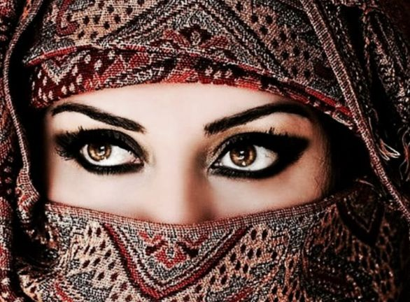 Beautiful eyes from Persia