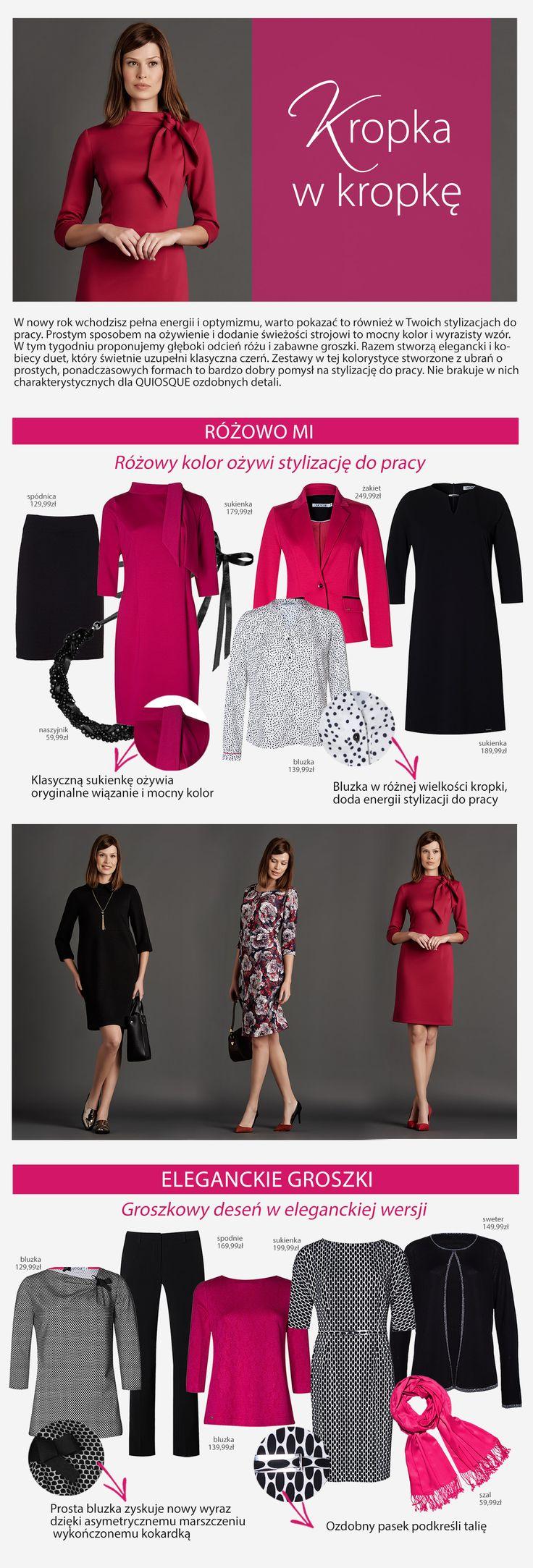 #quiosquepl #quiosque #naszeinspiracje #poniedzialek #monday #new #collection #lady #style #outfit #dress #blouse #jacket #feminine #kobieco #womanwear #trends #inspirations #autumn #winter