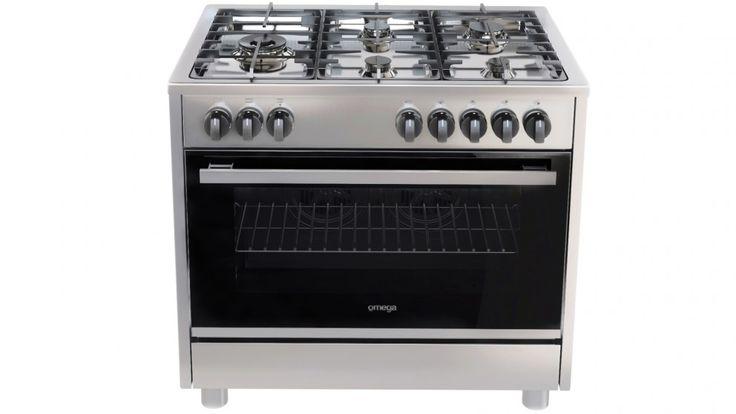 Omega 90cm 5 Burner Freestanding Cooker