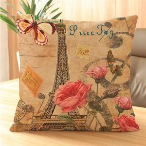 Perna decorativa Paris Roses1