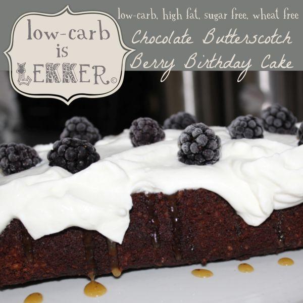 Low Carb Berry cake - logo
