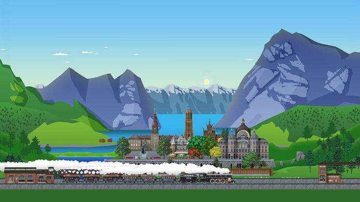 Vasútállomás - a legjobb online játék a síneken
