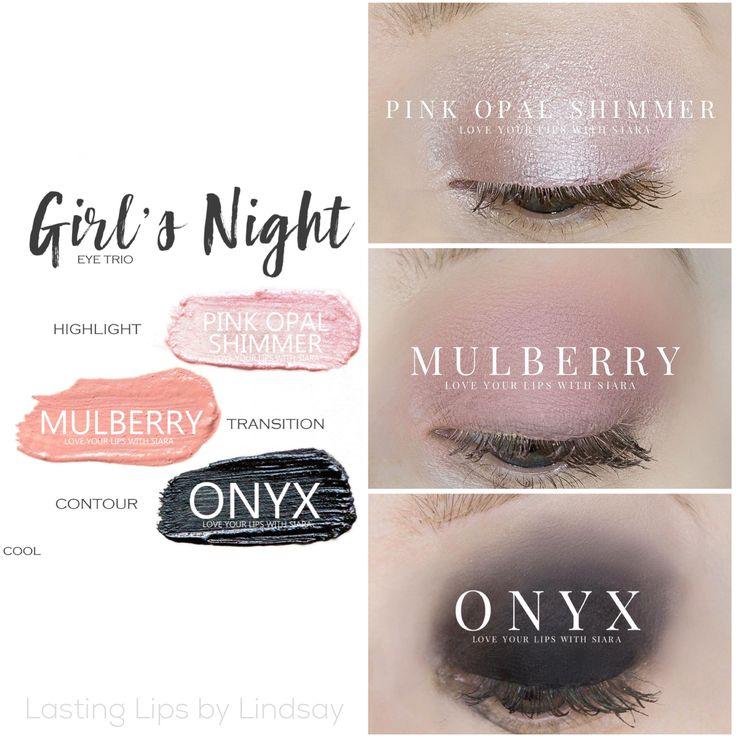 Eyeshadow trio using SeneGence ShadowSense colors in Pink Opal Shimmer, Mulberry, Onyx. Smudge proof, waterproof, crease-proof, long-lasting eyeshadow. Cream to powder eyeshadow. Cruelty free makeup | Makeup look | Makeup how to | Makeup tutorial | long-lasting makeup | LipSense | LipSense distributor | www.lastinglipsbylindsay.com | Insta @ lastinglips_by_lindsay | Bella | Blackberry | Violet Volt | Silver Shimmer | Sandstone Pearl | Granite | beauty | step-by-step eyeshadow look | Denim…