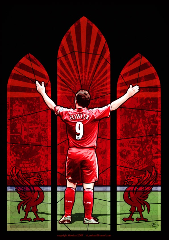 @Kitster29 LFC's vision of God, AKA Robbie Fowler (who was the inspiration for my Roller Derby name). http://kitster29.deviantart.com/gallery/1440680#/dwzh6w