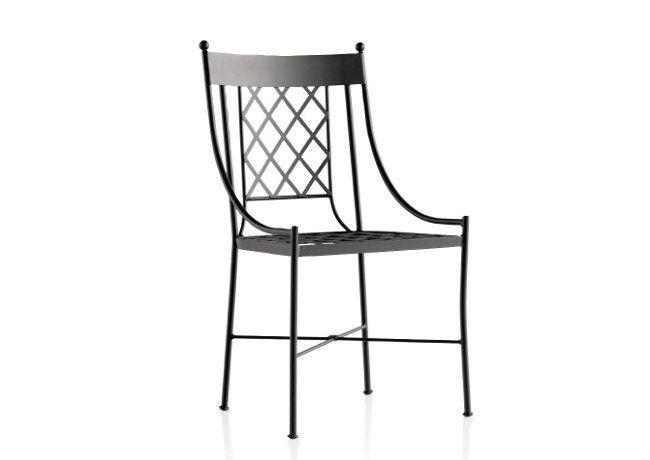Silla de forja para hosteleria modelo marsella www for Modelos de sillas de metal