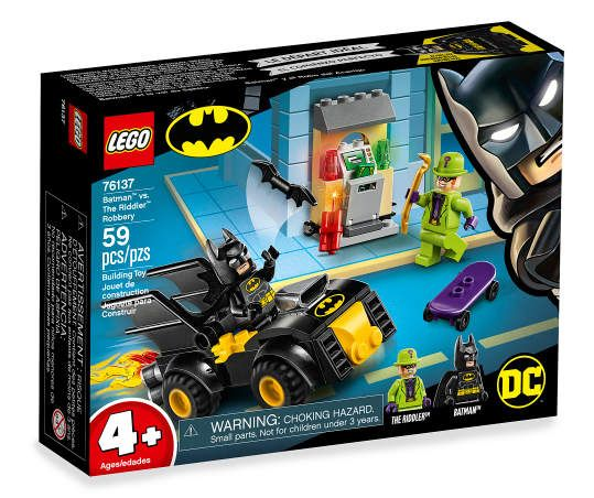 DC Comics Batman vs. The Riddler Robbery 76137 59-Piece Building Set – Things Alex likes