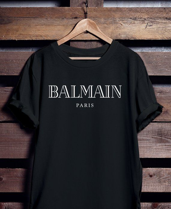 Balmain Women Men DesignerEtsy And Paris Shirt W9HEDI2