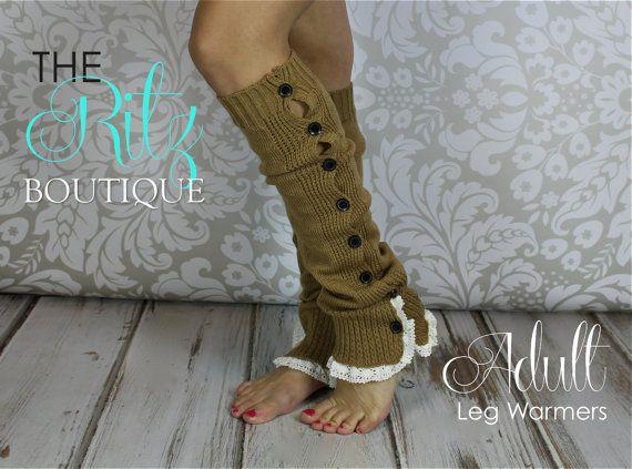 VERKAUF!! BUTTON Down Bein Rüschen Stulpen - Adult Stulpen Stulpen von Rüschen Spitze Schaltfläche Starten Socken
