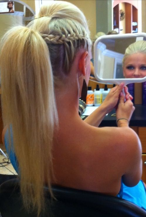 Miraculous 1000 Images About Hairstyles For Cheerleaders On Pinterest Short Hairstyles For Black Women Fulllsitofus