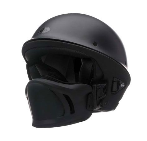 Unusual Helmets | Rogue Bell Motorcycle Helmet in Solid Matte Black image from http ...