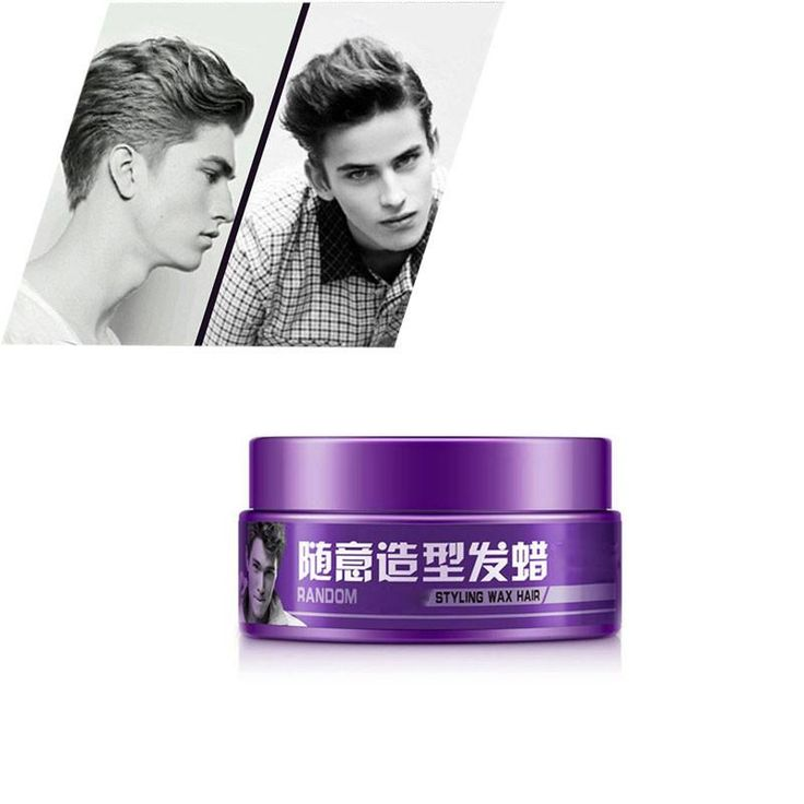 Hair Clay Pomade Men Random Styling Hair Mud Wax Long-lasting Moisturizing Gel Feature: 100% Brand New! Fresh and easy to dry Item Type: Pomades & Waxes Features: Moisturizing, long-lasting fragrance Shelf life: 3 years Capacity: 100g     1 x Random styling hair wax 100g