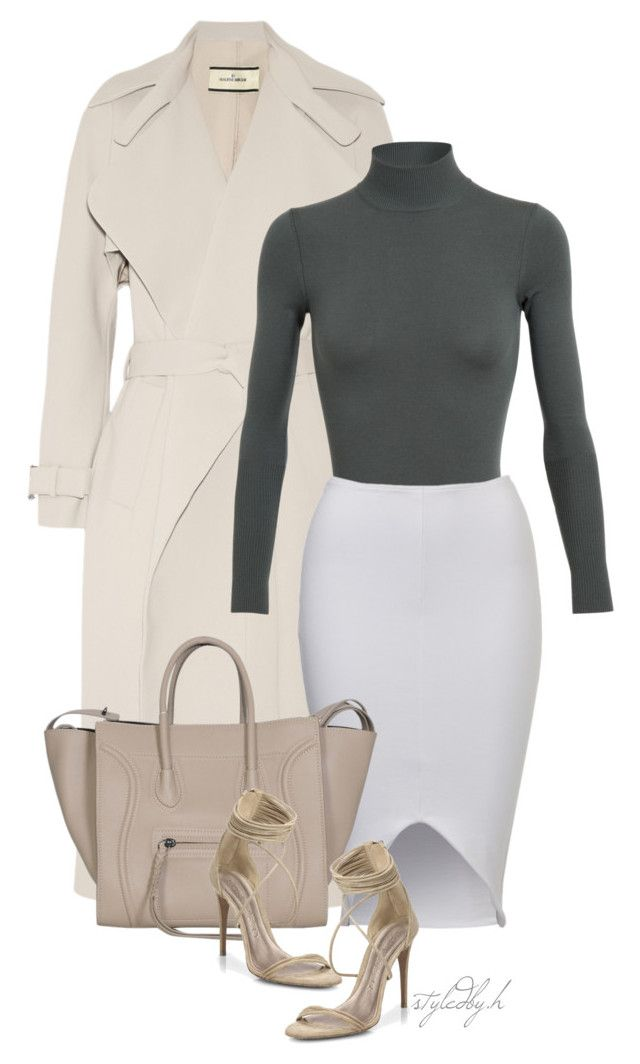 untitled#195 by hebashk on Polyvore featuring polyvore fashion style Alaïa By Malene Birger Burberry women's clothing women's fashion women female woman misses juniors