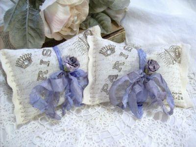 Lavender Sachet vintage French postcardDecor, Parisians Bridal, Crafts Ideas, Lavender Sachets, Bags Inspiration, Vintage Parisians, Lavender Bags, Vintage French, Sachets Vintage