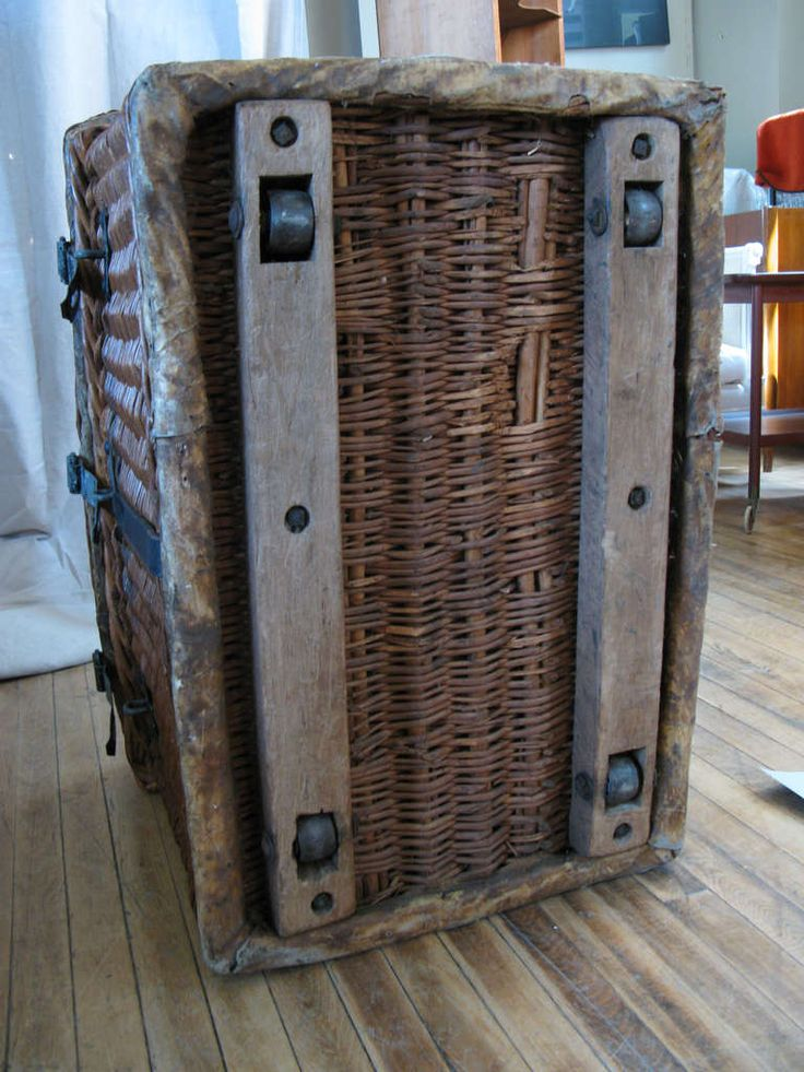 319 best wonderful world of wicker trunks baskets for Cane and wicker world