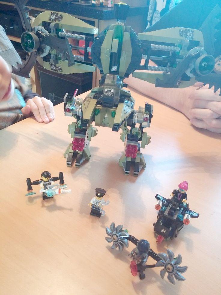 LEGO Ultra Agents Hurricane Heist