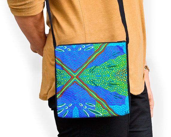 Australian Aboriginal Art Mini bag by AboriginalOzArt on Etsy