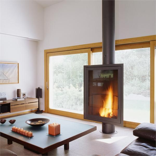 99 best Cozy Fireplaces images on Pinterest | Freestanding ...