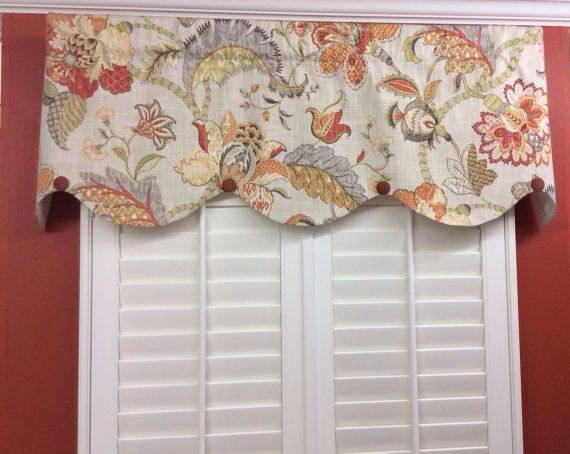 Well-known 23 best Floral Valances/Window Treatments images on Pinterest  RU65