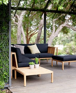 Introducing the super comfy Watego outdoor modularby Eco Outdoor. #outdoordesign #outdoordesignideas #outdoorstyle #outdoorstyling #outdoorfurniture #ecooutdoor