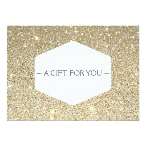 customizable gift certificate cards for salons and boutiques comes with standard white envelope matching