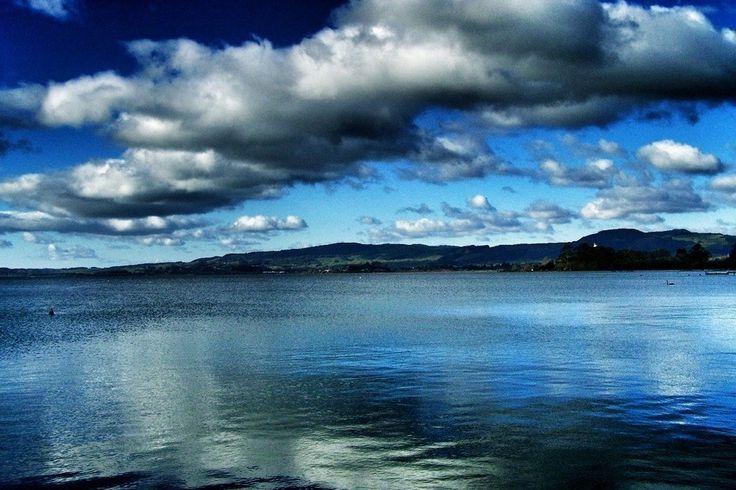 Grey Skies: Finding Beauty In An Overcast Day ...Lake Rotorua, New Zealand | Landlopers