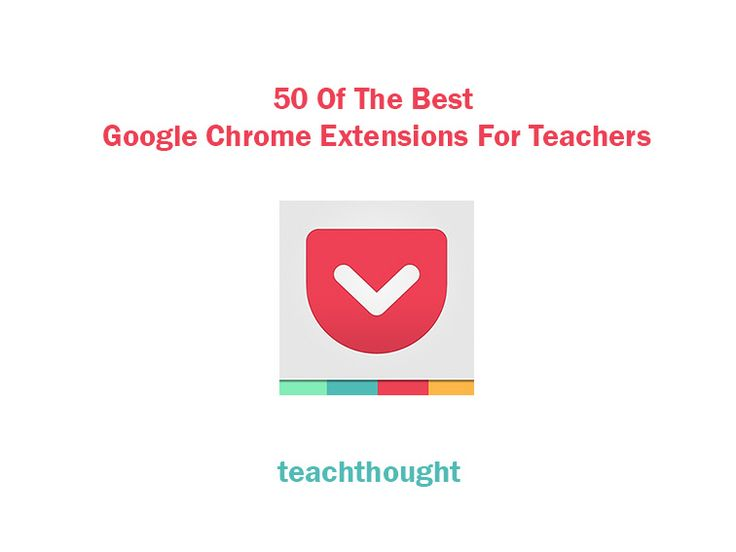 50 Of The Best Google Chrome Extensions For Teachers