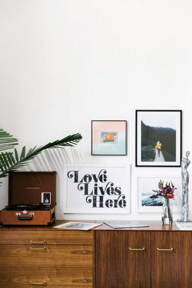 """Fletcher learned first-hand the importance of starting your decorating process well ahead of your move-in date: """"For the first month that we lived in our house together we had no furniture,"""" she..."""