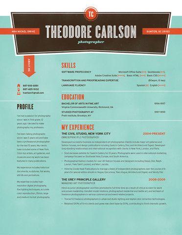 190 best resume design layouts images on pinterest resume cv